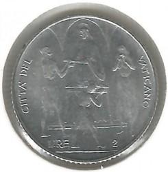 Moneta > 2lire, 1968 - Vaticano  - reverse