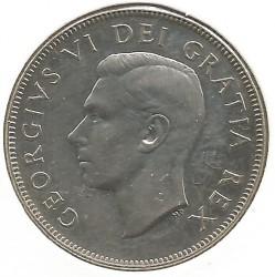 Moneta > 50centų, 1948-1952 - Kanada  - obverse