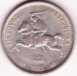 Moneda > 2litai, 1925 - Lituania  - obverse
