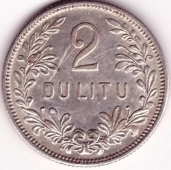 Moneda > 2litai, 1925 - Lituania  - reverse