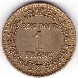 Moneda > 1franc, 1920-1927 - França  - reverse