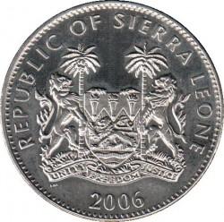 Münze > 1Dollar, 2006 - Sierra Leone  (Dinosaurs - Stegosaurus) - obverse
