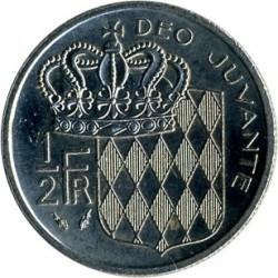 Moneta > ½franko, 1965-1995 - Monakas  - reverse