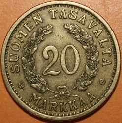 Münze > 20Mark, 1934 - Finnland  - reverse