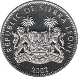 Moneta > 1dollaro, 2002 - Sierra Leone  (In memoria - Regina madre, regina Elisabetta II e la principessa Margaret) - obverse