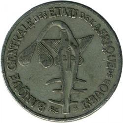 Mynt > 50francs, 1972-2011 - Vest-Afrika (BCEAO)  - obverse