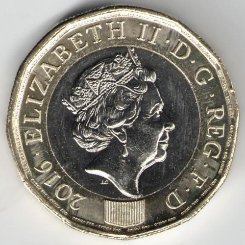 1 Pfund 2016 2018 Vereinigtes Königreich Münzen Wert Ucoinnet