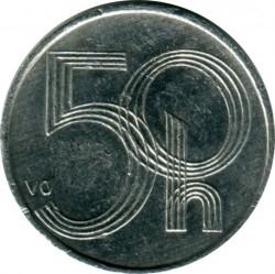Moneda > 50hellers, 2007 - República Checa  - obverse