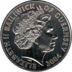 Moneta > 5svarai, 2004 - Gernsis  (History of the Royal Navy - Henry VIII) - obverse