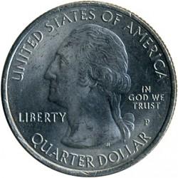 Coin > ¼dollar, 2016 - USA  (Cumberland Gap National Historical Park) - obverse