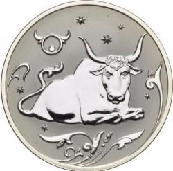 Moneta > 2ruble, 2005 - Rosja  (Znaki zodiaku - Byk) - reverse