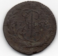 Moneda > 1denga, 1764-1796 - Rússia  - reverse