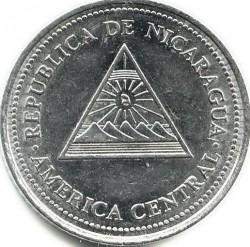 Münze > 50Centavos, 1997 - Nicaragua   - obverse