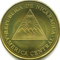 Münze > 25Centavos, 2002-2014 - Nicaragua   - obverse