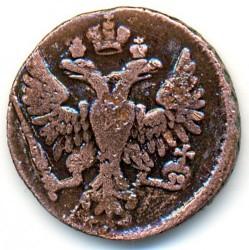 Pièce > ½kopek(1denga), 1730-1754 - Russie  - obverse
