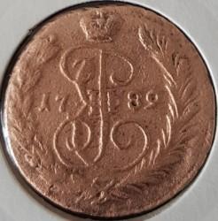 Monedă > 1copeică, 1763-1796 - Rusia  - obverse