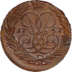 Munt > 2kopeks, 1757-1762 - Rusland  - obverse