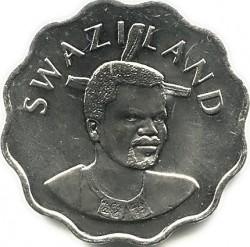 Moneta > 5centów, 1995-2010 - Suazi  - obverse
