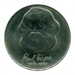 Moneta > 20marchi, 1983 - Germania - GDR  (100° anniversario - Morte di Karl Marx) - reverse