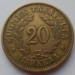 Münze > 20Mark, 1931 - Finnland  - reverse