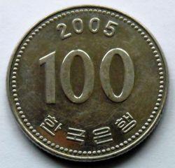 Moneta > 100vonų, 2005 - Pietų Korėja  - obverse