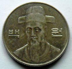 Moneta > 100vonų, 2005 - Pietų Korėja  - reverse