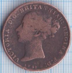 Moeda > 1/26shilling, 1841-1861 - Jersey  - obverse