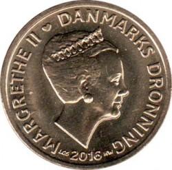 Münze > 20Kronen, 2013-2016 - Dänemark   - obverse