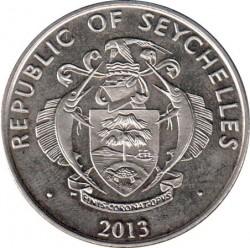Moneta > 5rupie, 2013 - Seychelles  (Papa Francesco) - obverse