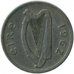 Pièce > 2shillings(florin), 1962 - Irlande  - obverse