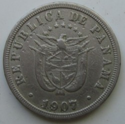 Mynt > 2½centésimos, 1907-1916 - Panama  - obverse