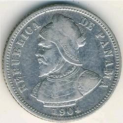 العملة > 10سنتيسيم, 1904 - بنما  - reverse