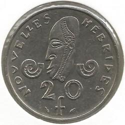 Кованица > 20франака, 1973-1982 - Нови Хибриди  - reverse