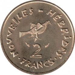 Кованица > 2франке, 1973-1982 - Нови Хибриди  - reverse