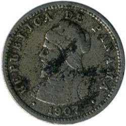 מטבע > ½סנטזימו, 1907 - פנמה  - obverse
