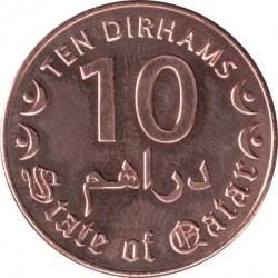 Moneta > 10dirhamų, 2016 - Kataras  - obverse