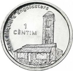 Moneda > 1céntimo, 2003 - Andorra  (Iglesia de San Miguel de Engolasters) - reverse