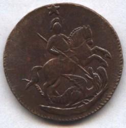 سکه > 1کوپک, 1762 - روسیه  - obverse