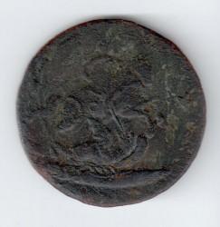 سکه > 4کوپک, 1762 - روسیه  - reverse