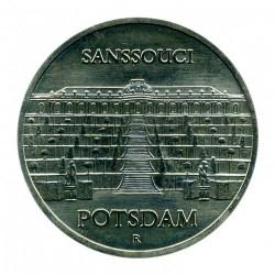 Moneda > 5marcos, 1986 - Alemania - RDA  (Palacio Sanssouci de Potsdam) - reverse