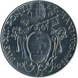 Mynt > 50centesimi, 1940 - Vatikanstaten  - obverse