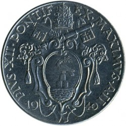Mynt > 50centesimi, 1940 - Vatikanstaten  - reverse