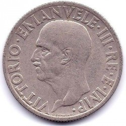 Moneta > 1lir, 1936 - Włochy  - reverse