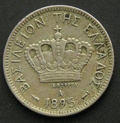 錢幣 > 10雷普塔, 1894-1895 - 希臘  - obverse