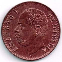 Moneta > 1čentezimas, 1895-1900 - Italija  - obverse