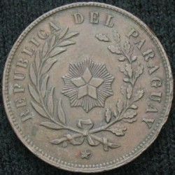 Монета > 1сентесимо, 1870 - Парагвай  - reverse