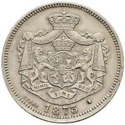 מטבע > 1לאי, 1873-1876 - רומניה  - obverse