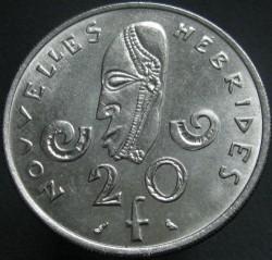Кованица > 20франака, 1967-1970 - Нови Хибриди  - reverse