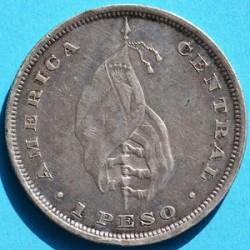 Кованица > 1позо, 1892 - Салвадор  (Flag) - reverse