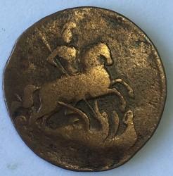 Münze > ½Kopeke(Denga), 1757-1760 - Russland  - reverse